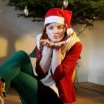 Ik wens je een fashionable Christmas party!