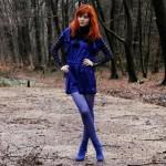 Outfit – In het blauw