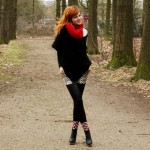 Outfit – Rood en panter