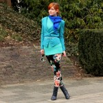 Outfit – Turquoise boven
