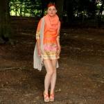 Outfit – Scarf print jurkje