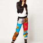 De patchwork scarf print