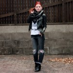 Outfit – Vuilniszak om m'n nek