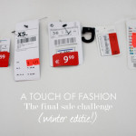 A Touch Of Fashion – The final sale challenge (winter editie!)