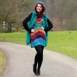 Outfit – Winters turquoise
