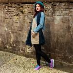 Outfit – Kek paars kleurtje