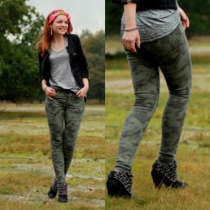 Battle of the outfits - Camouflage broek thumb