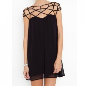 choies fine mesh dress - kopie