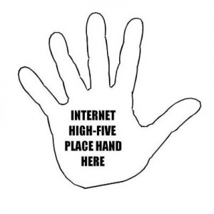 internet high five kristensimmonsbooks - kopie