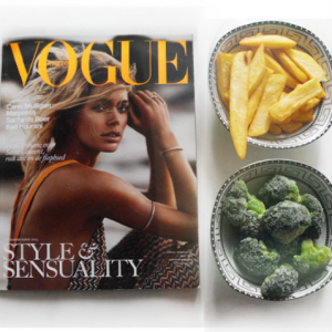 who needs meat when there is vogue thefashiondistrict
