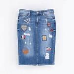 Fashion crush – Denim rok met patches