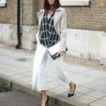 Outfit inspiratie voor het dragen van culottes