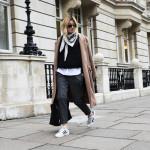 Outfit inspiratie voor het dragen van een sjaaltje
