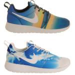 Nike Roshe Run Sunrise en Blue Sky