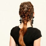 Two tiered braid