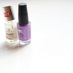 NYC Lavender Blossom nagellak (en essence Matt Top Coat)