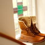 Timberland Shearling Fold Down boots