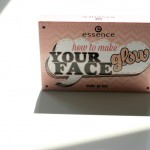 essence how to make your face glow make-up box