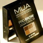 MUA Pro-Brow Ultimate Eyebrow Kit Fair Mid Brown