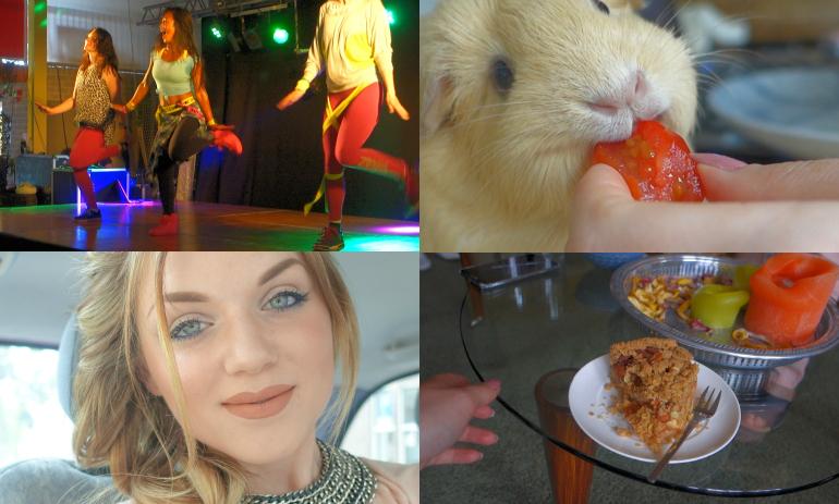 Vlogging is a party #25 - Uit m'n comfort zone, vlog, vlogging is a party, uit m'n comfort zone, clipper, randstad, xenos, slakom, verjaardag, regen, zumba marathon, nacht van de mode, cavia