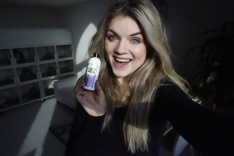 vlog, vlogging is a party, l'oreal colorista, l'oreal colorista review, l'oreal colorista vlog, l'oreal colorista lavendel spray, lila haar, gekleurd haar, pastel haar, clarisonic mia 2, fashionblogger, fashion is a party, ijlst, friesland, vera camilla jarig, catrice pulse of purism, stan & co arnhem, garnier skinactive hydra bomb