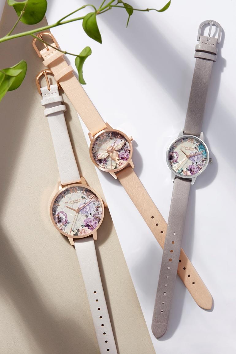 olivia burton, olivia burton horloges, horloge.nl, natuur, asos, romantische horloges